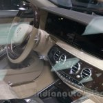 Mercedes-Maybach S600 dashboard at the 2014 Guangzhou Auto Show