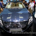 Mercedes-Maybach S600 front at the 2014 Guangzhou Auto Show