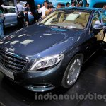 Mercedes-Maybach S600 front quarter at the 2014 Guangzhou Auto Show