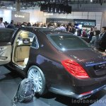 Mercedes-Maybach S600 rear three quarters at the 2014 Los Angeles Auto Show