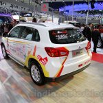 Mitsubishi ASX Silk Edition rear quarters at 2014 Guangzhou Auto Show