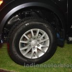 Mitsubishi Pajero Sport AT alloy wheel at the Indian launch