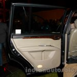 Mitsubishi Pajero Sport AT door pad at the Indian launch