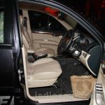 Mitsubishi Pajero Sport AT front seats at the Indian launch