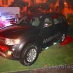 Mitsubishi Pajero Sport AT front three quarters at the Indian launch