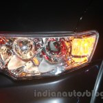 Mitsubishi Pajero Sport AT headlamp at the Indian launch
