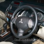 Mitsubishi Pajero Sport AT interiors at the Indian launch