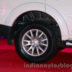 Mitsubishi Pajero Sport AT rear wheel at the Indian launch