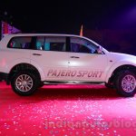 Mitsubishi Pajero Sport AT side profile at the Indian launch
