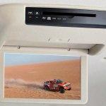 Mitsubishi Pajero facelift LCD screen