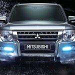 Mitsubishi Pajero facelift front