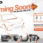 New Maruti Alto K10 microsite
