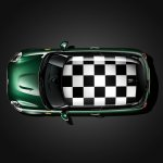 New Mini Cooper S with John Cooper Works package checkered roof