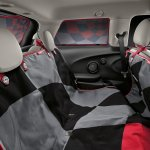 New Mini Cooper S with John Cooper Works package rear seat