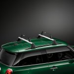 New Mini Cooper S with John Cooper Works package roof rack