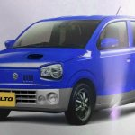 New Suzuki Alto JDM front three quarters