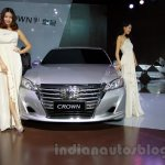 New Toyota Crown front at the 2014 Guangzhou Auto Show