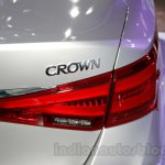 New Toyota Crown taillamp at the 2014 Guangzhou Auto Show