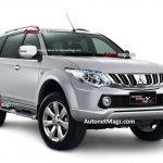 Next generation Mitsubishi Sport render