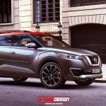 Nissan Kicks production version rendering