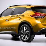 Nissan Kicks render rear