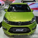 Proton Iriz front at the 2014 Thailand International Motor Expo