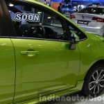 Proton Iriz front door at the 2014 Thailand International Motor Expo