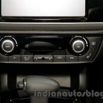 Qoros 3 City SUV AC controls at the 2014 Guangzhou Auto Show
