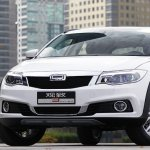Qoros 3 City SUV front three quarter