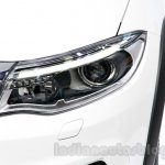 Qoros 3 City SUV headlight at the 2014 Guangzhou Auto Show