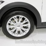 Qoros 3 City SUV wheel at the 2014 Guangzhou Auto Show