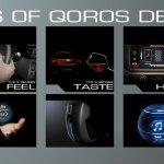 Qoros Qloud Qubed concept senses