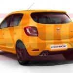 Renault Sandero RS rendering rear