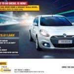 Renault Scala diesel offer