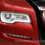 Rolls Royce Ghost Carbon Edition headlight at 2014 Guangzhou Auto Show