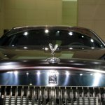 Rolls Royce Ghost Carbon Edition hood at 2014 Guangzhou Auto Show