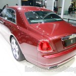 Rolls Royce Ghost Carbon Edition rear quarter at 2014 Guangzhou Auto Show