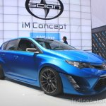 Scion iM Concept at the 2014 Los Angeles Auto Show