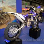 Sherco Prototype 300 SEi-R rear quarter at EICMA 2014