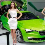 Skoda VisionC Concept at the 2014 Guangzhou Auto Show