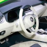Skoda VisionC Concept interior at the 2014 Guangzhou Auto Show