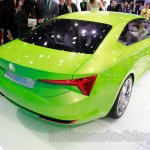 Skoda VisionC Concept rear quarter at the 2014 Guangzhou Auto Show