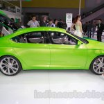 Skoda VisionC Concept side at the 2014 Guangzhou Auto Show