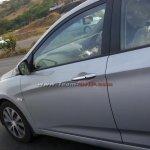 Spied Hyundai Verna facelift interior