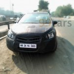 Spied Maruti SX4 S-Cross diesel front