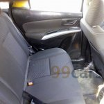Spied Maruti SX4 S-Cross diesel rear seat