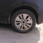 Spied Maruti SX4 S-Cross diesel rear wheel