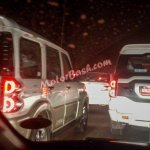 Spied new Mahindra Scorpio AT rear