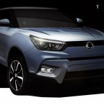 SsangYong Tivoli front sketch