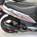 Suzuki Address rear wheel at EICMA 2014